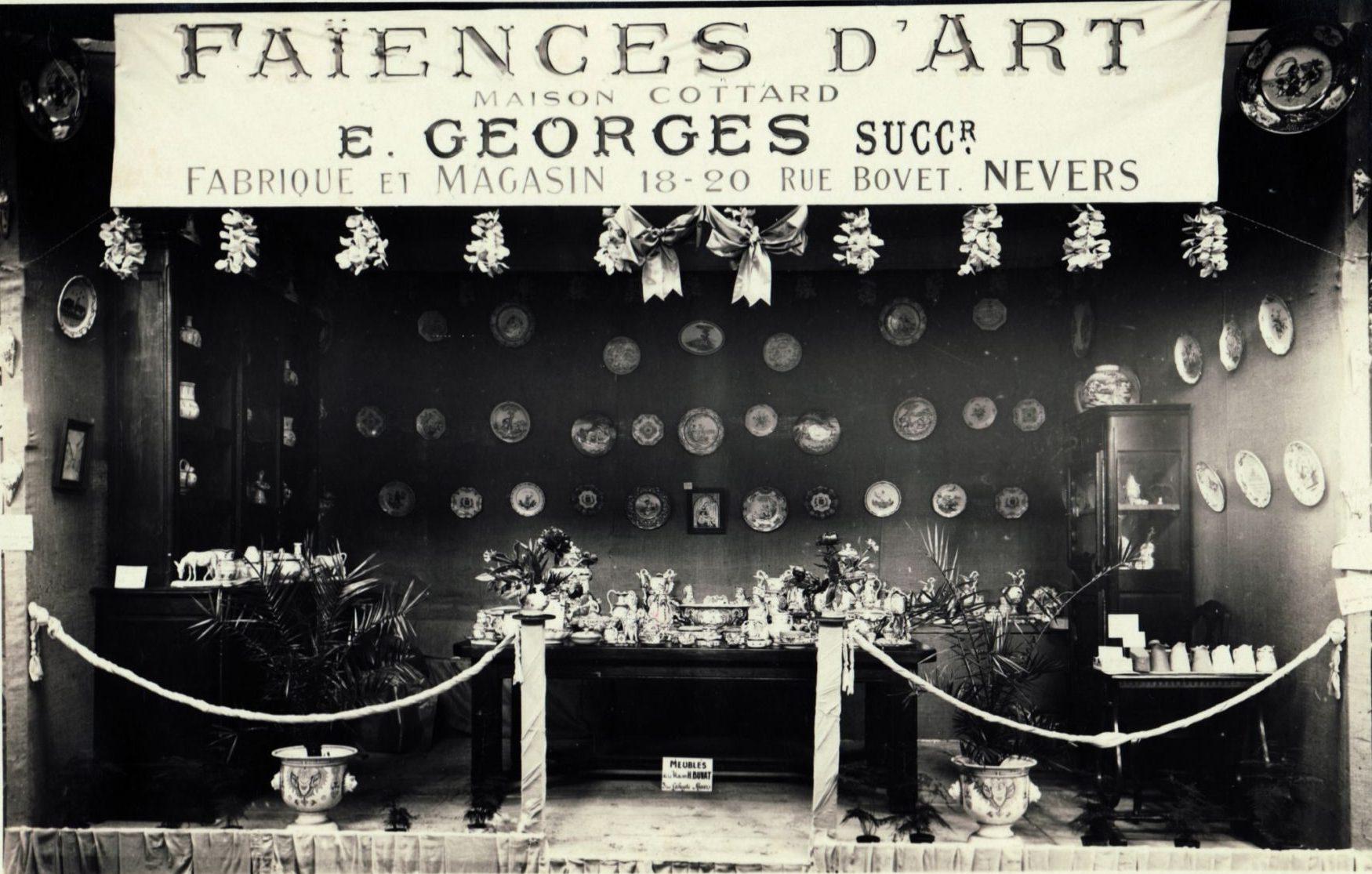Exposition à Pougues-les-Eaux en 1926