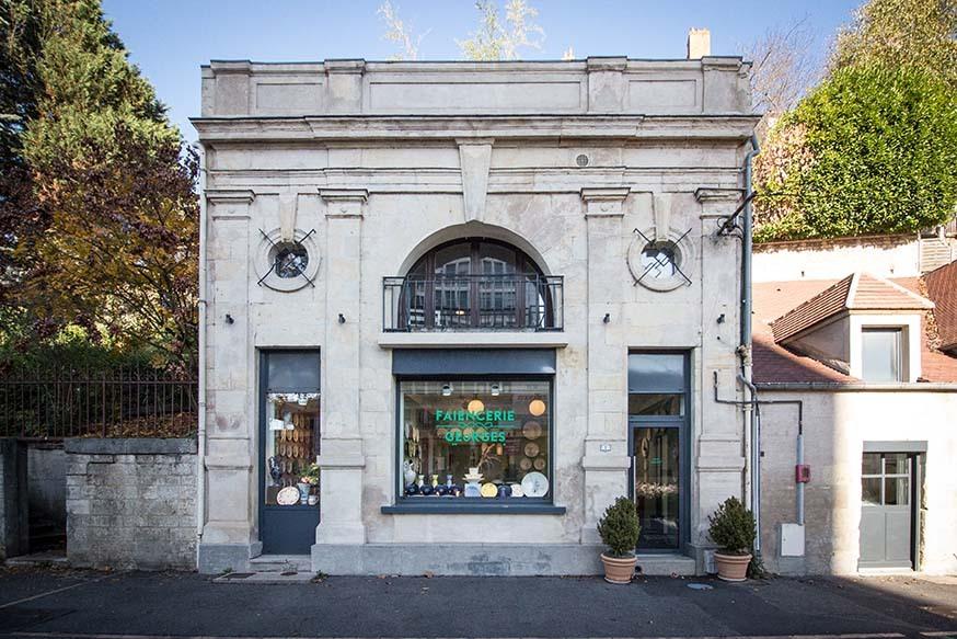 La boutique-atelier à Nevers