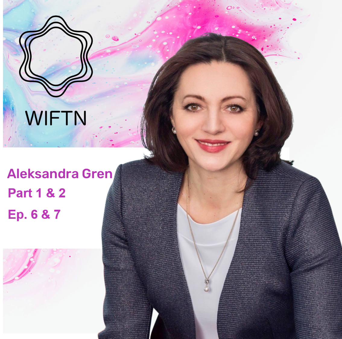 Ep. 6 & 7Aleksandra Gren - Aleksandra Gren has nearly 20 years of experience in the financial technology sector in Europe, the Middle East and Africa. Today Aleks is the country manager for Fiserv Poland. Aleks is a truly inspirational speaker. What struck us most in our interview with Aleks was her passion for giving back and championing the cause of empowering people and careers through education. In 2018 Aleks was the winner of the Global Women Leaders Award from Goldman Sachs and Fortune Magazine. Aleks has a B.A. in International Relations from the University of British Columbia in Vancouver and an M.Sc. in Policy Making from London School of Economics in LondonLink to episode 6Link to episode 7
