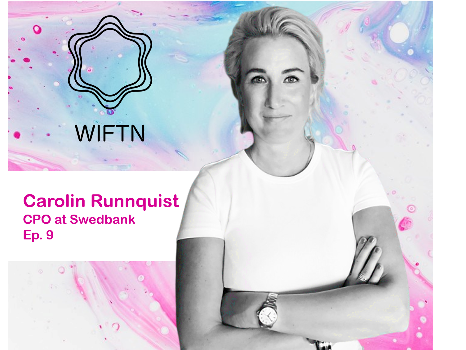 Ep. 9 Carolin Runnquist - From a bachelor degree in social work to becoming one of Sweden's leading experts in cybersecurity, Carolin Runnquist shares her career journey with us in this exciting podcast episode. She has been named IT Woman of the Year by Tieto (2018) and appointed one of Sweden's 101 Super talents by Veckans Affärer (2018), one of the most known Swedish financial magazine. Besides all of that, she even found time to write a book - called Leadership in Crisis - which will be released yet this year (Liber 2019). She is for sure a true role model, leader and inspiration in the area!Listen to episode 9 - Spotify Listen to episode 9 - Itunes