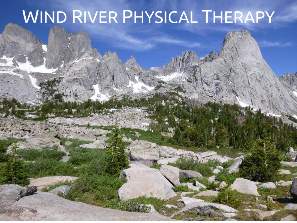 Patient Centered Care - At Wind River Physical Therapy our therapists will perform a thorough evaluation to determine the most appropriate treatment approach for you. You will work ONE ON ONE with a licensed Physical Therapist or Physical Therapy Assistant for YOUR ENTIRE VISIT.