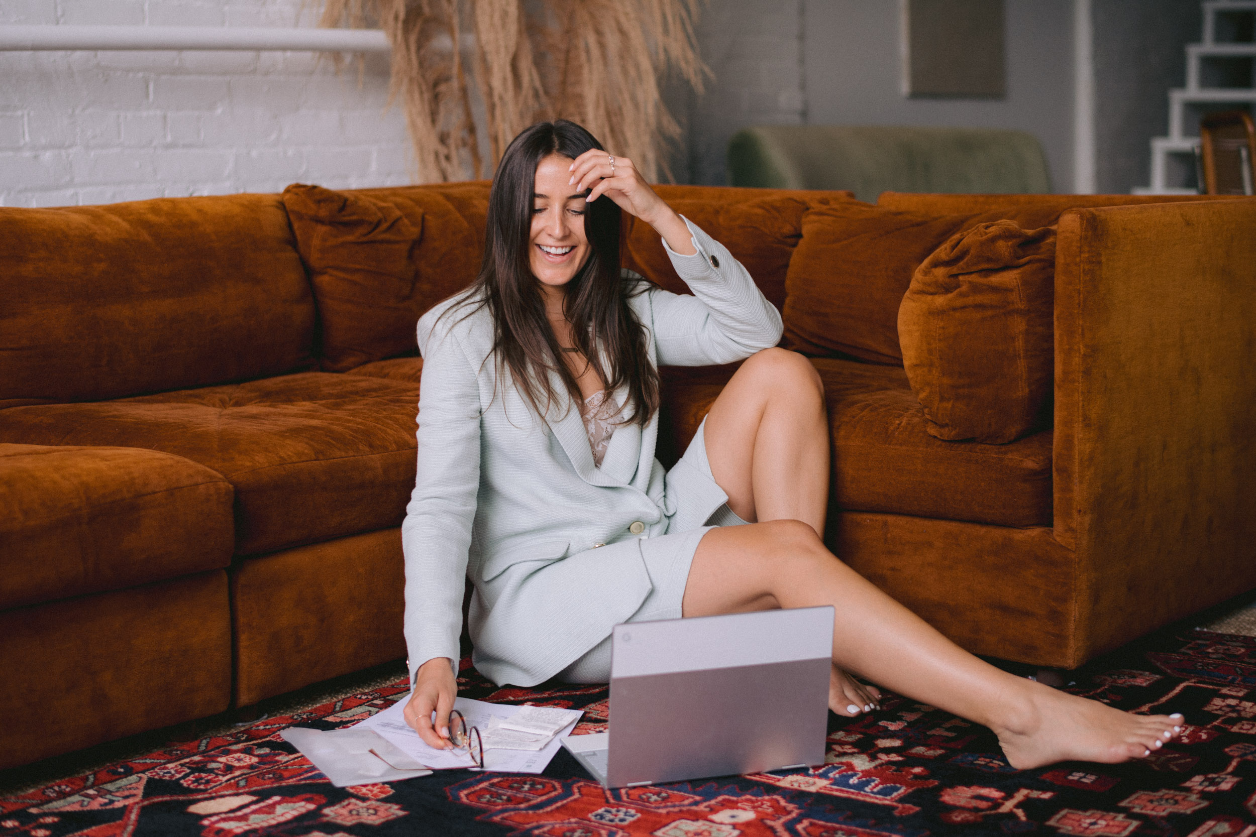"""Listen to the testimonials… - """"Her years of accounting experience were very evident as she knew exactly what I needed to do for my business and showed me how to organize it and helped me create a proper system for it all""""-Cassie Day, Founder All Day Fit"""
