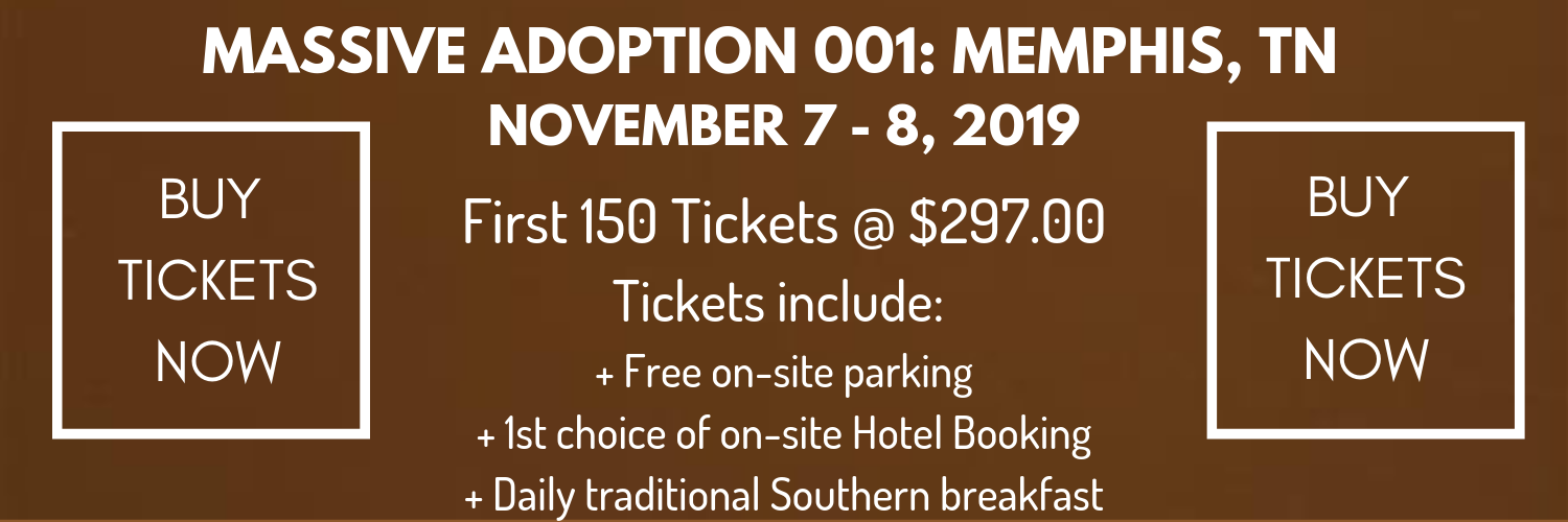 """First Adopter"" tickets are extremely limited…"
