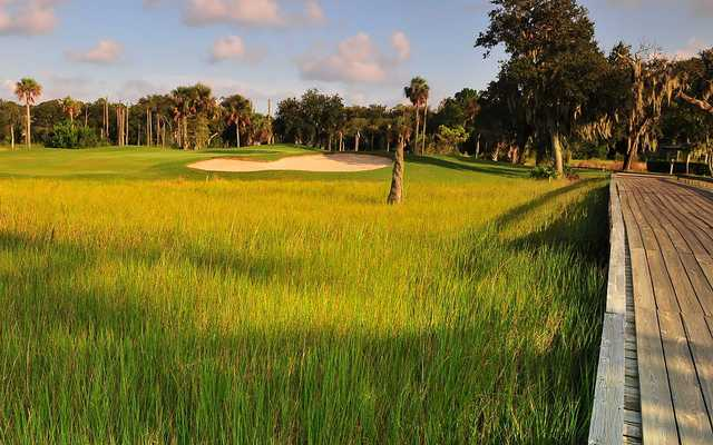 Marsh Landing CC - Beautiful championship course with a scenery that takes your breath away. The designer, Ed Seay, kept the beautiful landscape in tact by incorporating the natural features intBeautiful championship course with a scenery that takes your breath away.