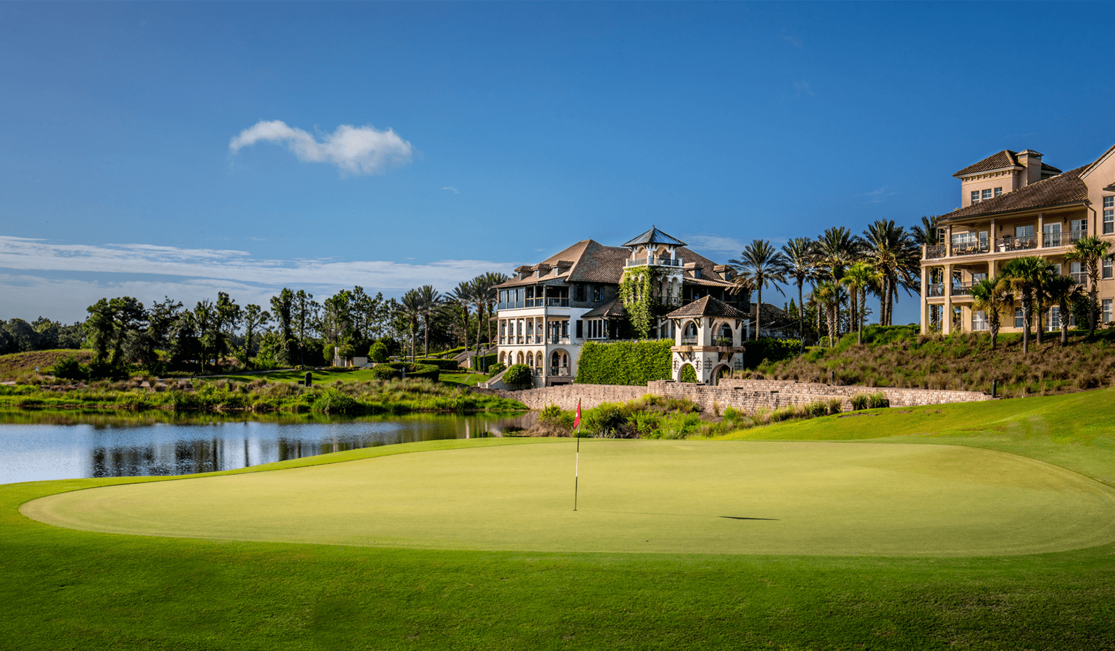 Palencia  - Prestigious championship designed golf course and private club. A challenging Arthur Hill's designed, masterpiece golf course that winds through centuries-old maritime oak trees and along the Intracoastal Waterway.