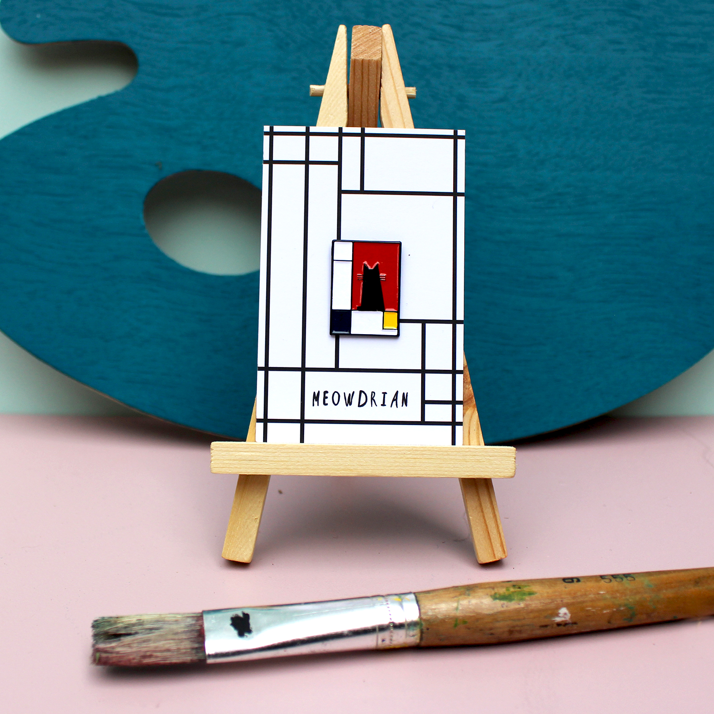 Meowdrian - Piet Mondrian