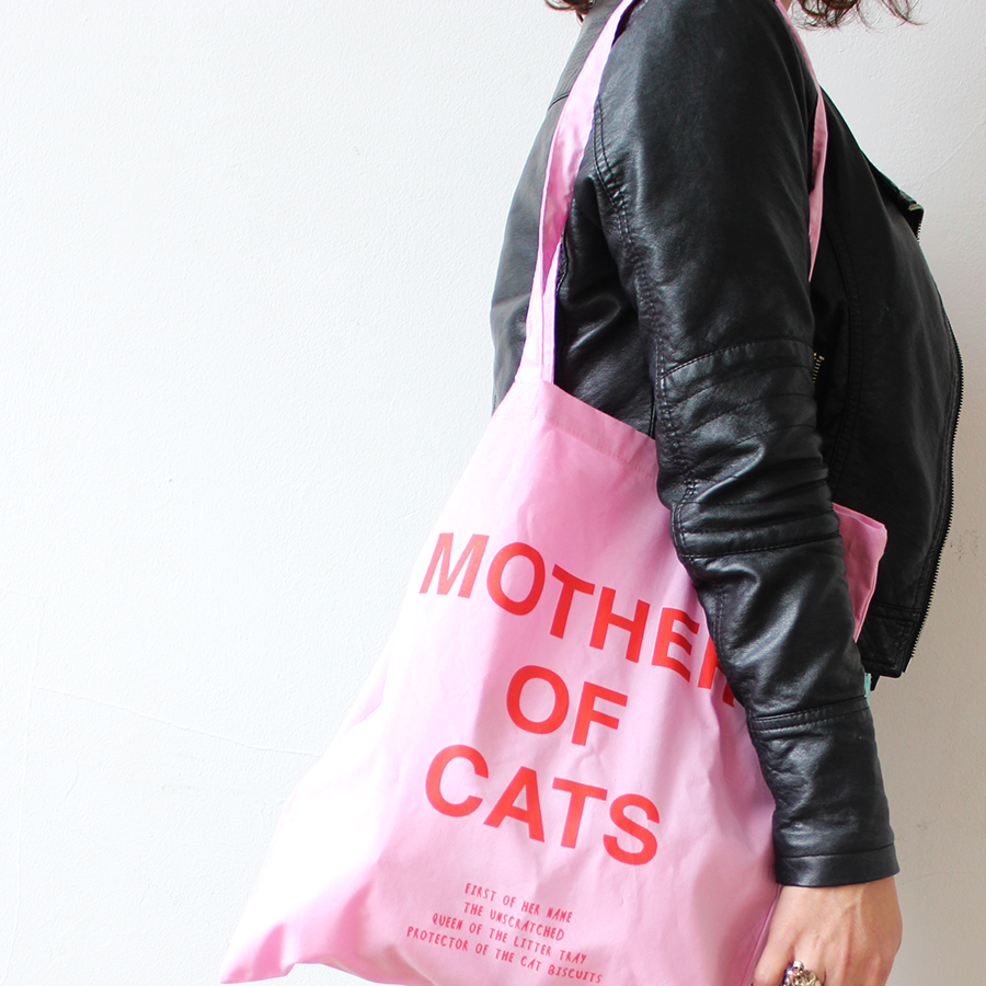 Mother of Cats - Pink