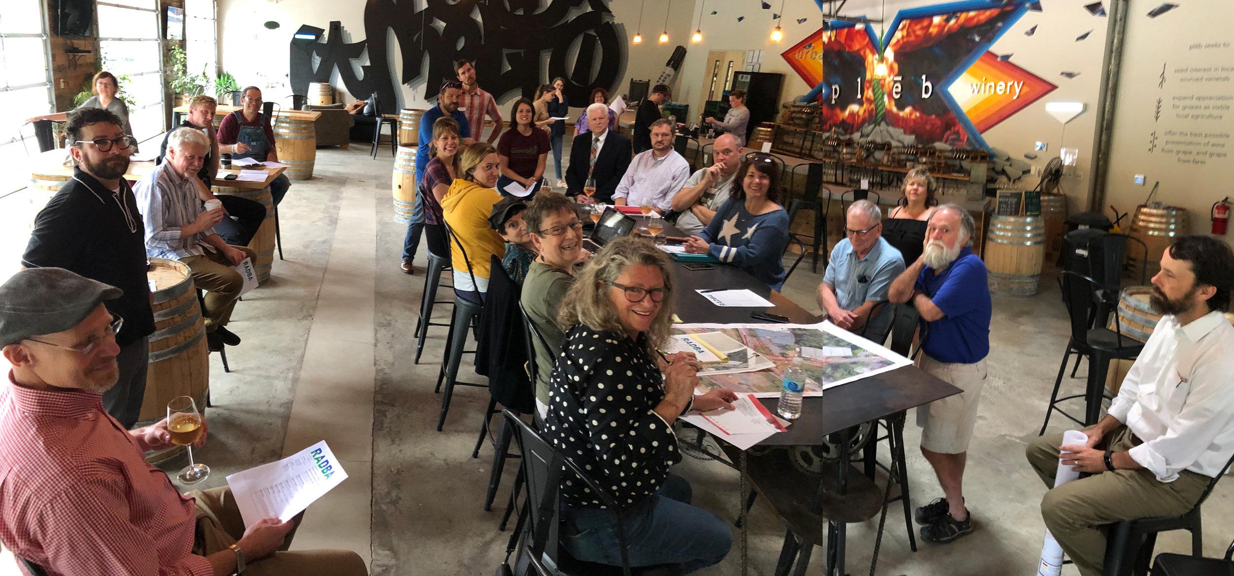 RADBA August 2019 Meeting @ Pleb Urban Winery