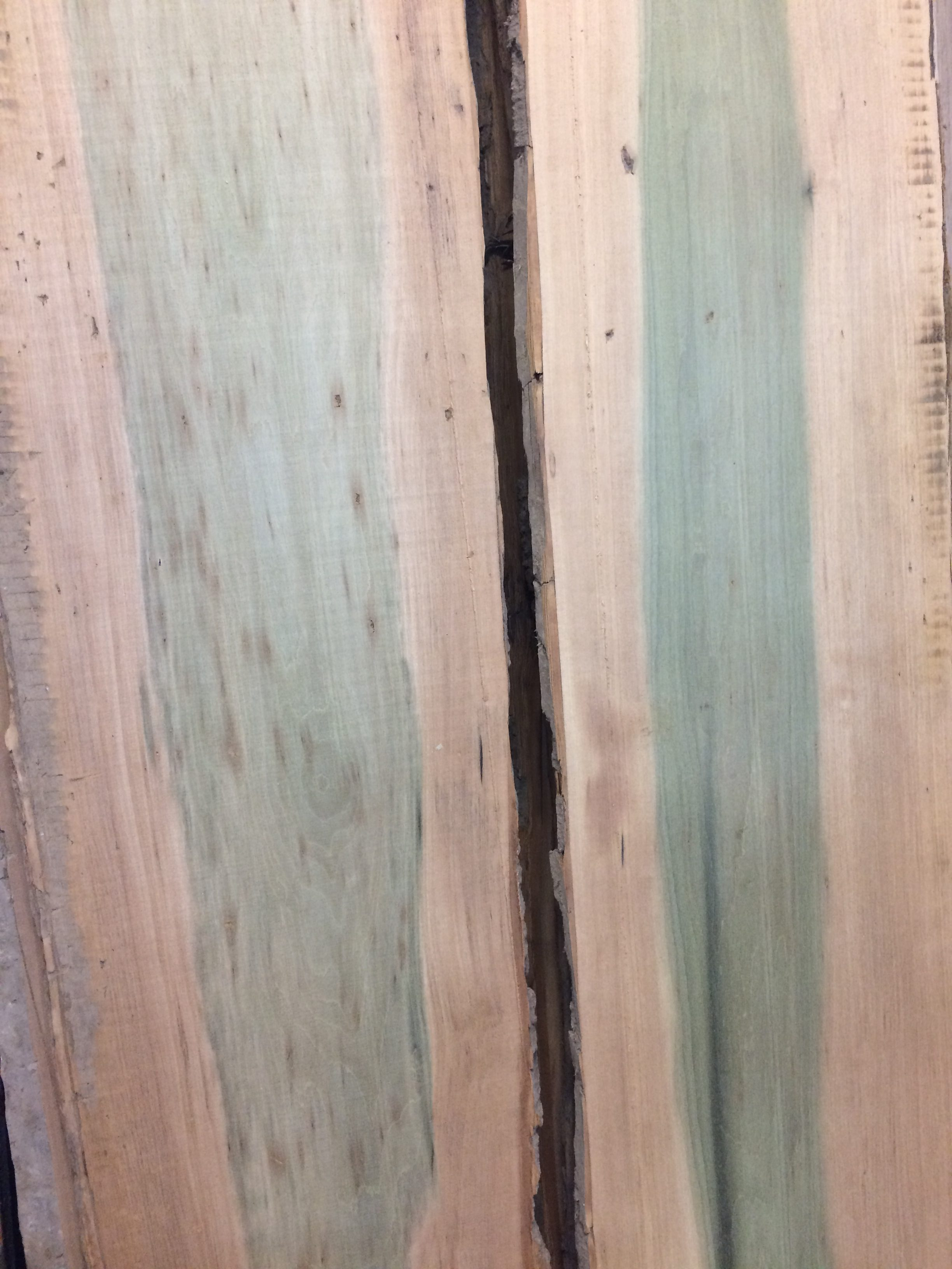 POPLAR - Poplar typically has a straight, uniform grain, with a medium texture. Low natural luster. Our poplar usually runs $6-$7 per board foot.