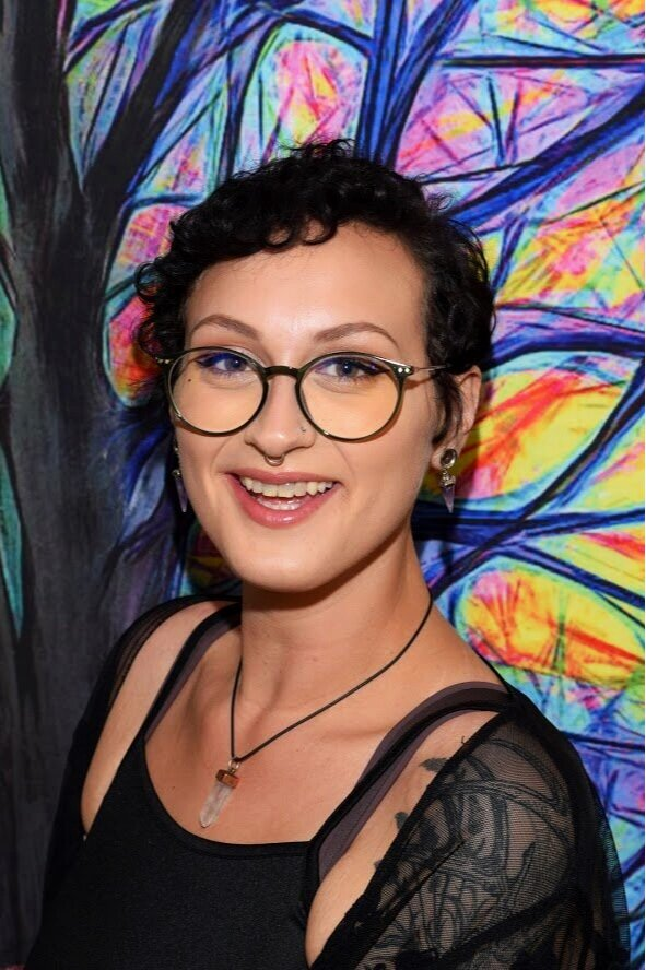 Sandii Buckman - Assistant Pride & Community Outreach Coordinator - sandii@stonewallchico.orgSandii Buckman (she/they) was born and raised in Chico, but is finally at home with Stonewall Alliance Center. They are a queer, non-binary, Indigenous american who has dedicated their life's work to understanding the structures of power and how those of us affected can organize, mobilize and enact lasting change. Sandii is receiving her BA in Journalism & Public Relations at Chico State. At Stonewall, Sandii has been tasked with helping coordinate the logistics and public relations for Chico Pride 2019, as well as facilitate community outreach and communications.