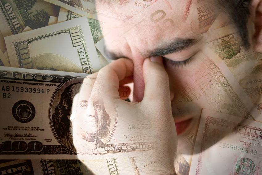 Chrometophobia - Fear of money.