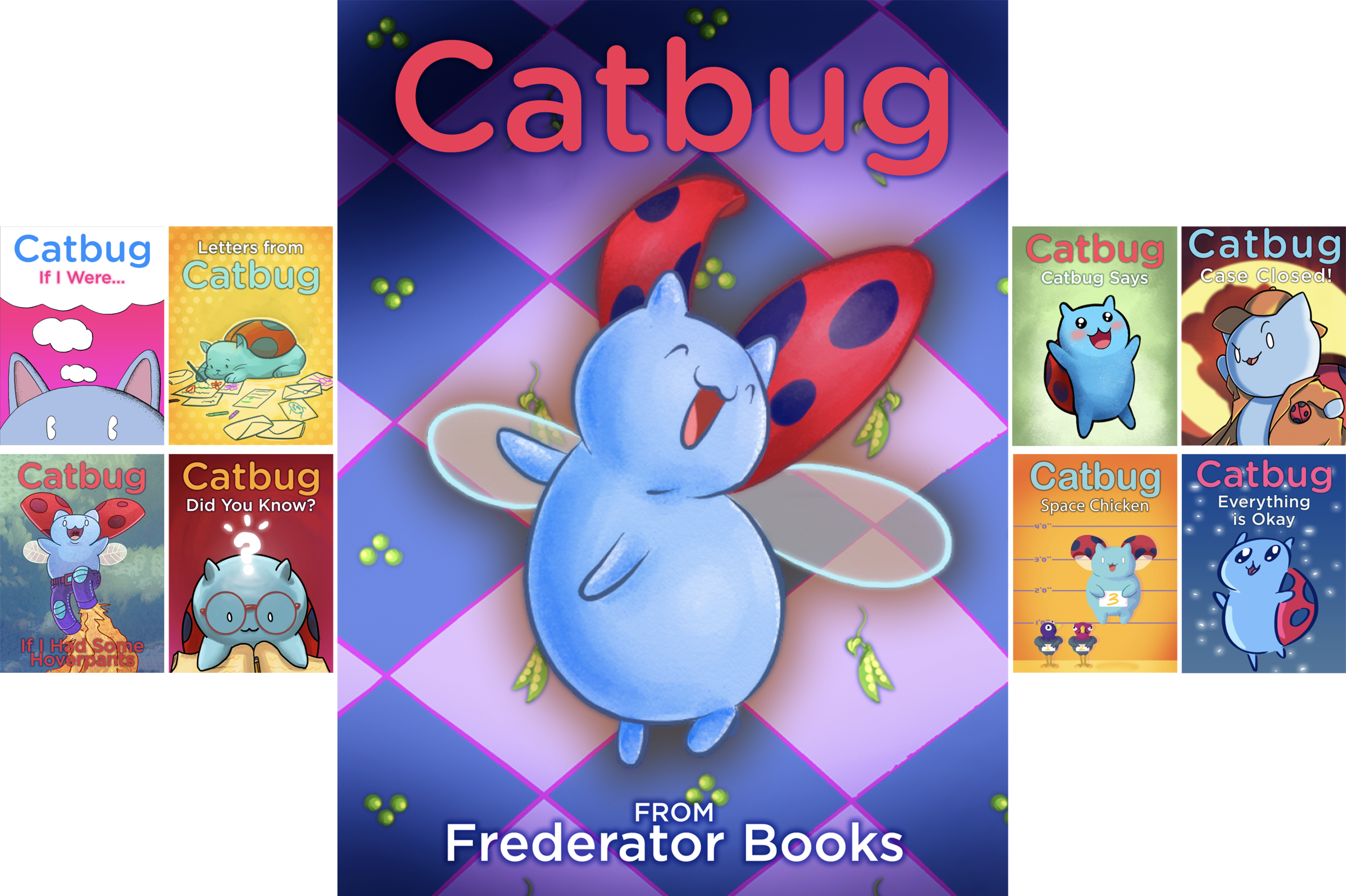 Meet  Catbug ! He likes making friends, playing tag, and eating peanut butter squares (but not until after they cool down!) Find out what millions of people who watch  Catbug in  Bravest Warriors   are talking about, and the hilarious one liners that you can't stop quoting.