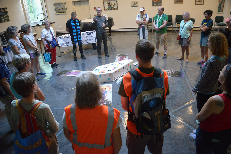 ECCO Solidarity Pilgrimage Wed AM Danvers Departure  ©Karen Elliott Greisdorf KEG_3761.jpg