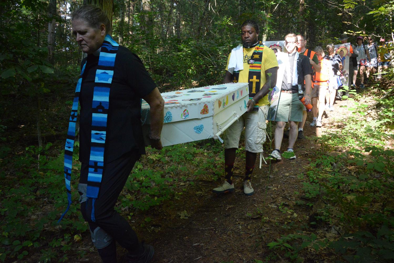 ECCO Solidarity Pilgrimage Wed AM Danvers Departure  ©Karen Elliott Greisdorf KEG_3816.jpg