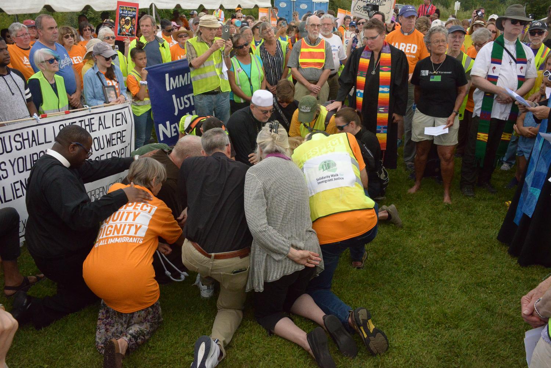 #SolidarityWalk Pilgrimage to Dover Saturday ©Karen Elliott Greisdorf KEG_4336.jpg