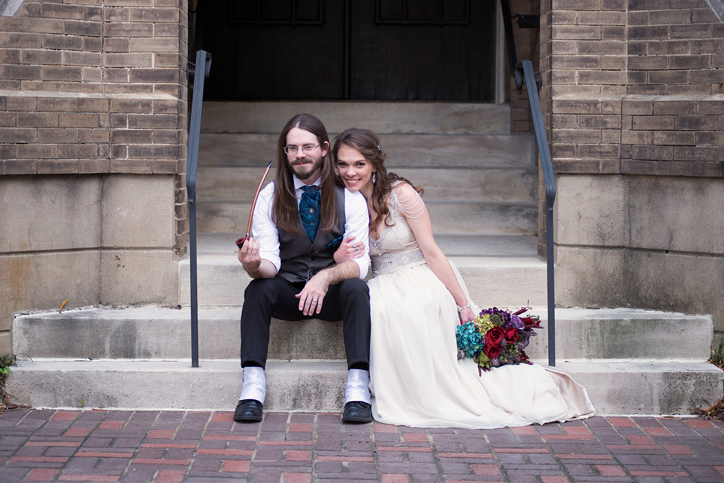 Wedding photo remake