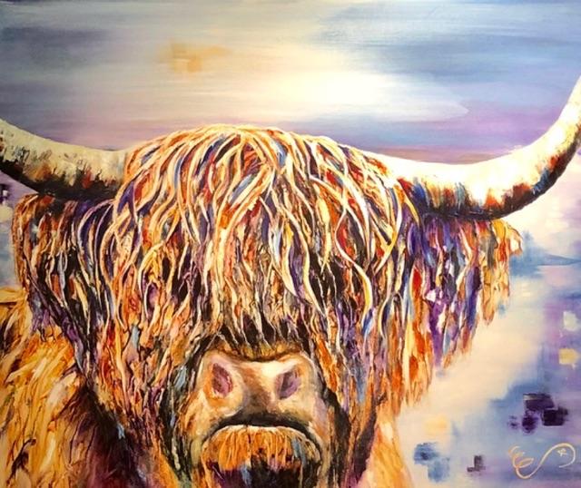 """""""Where Am I"""" Acrylic on Canvas"""