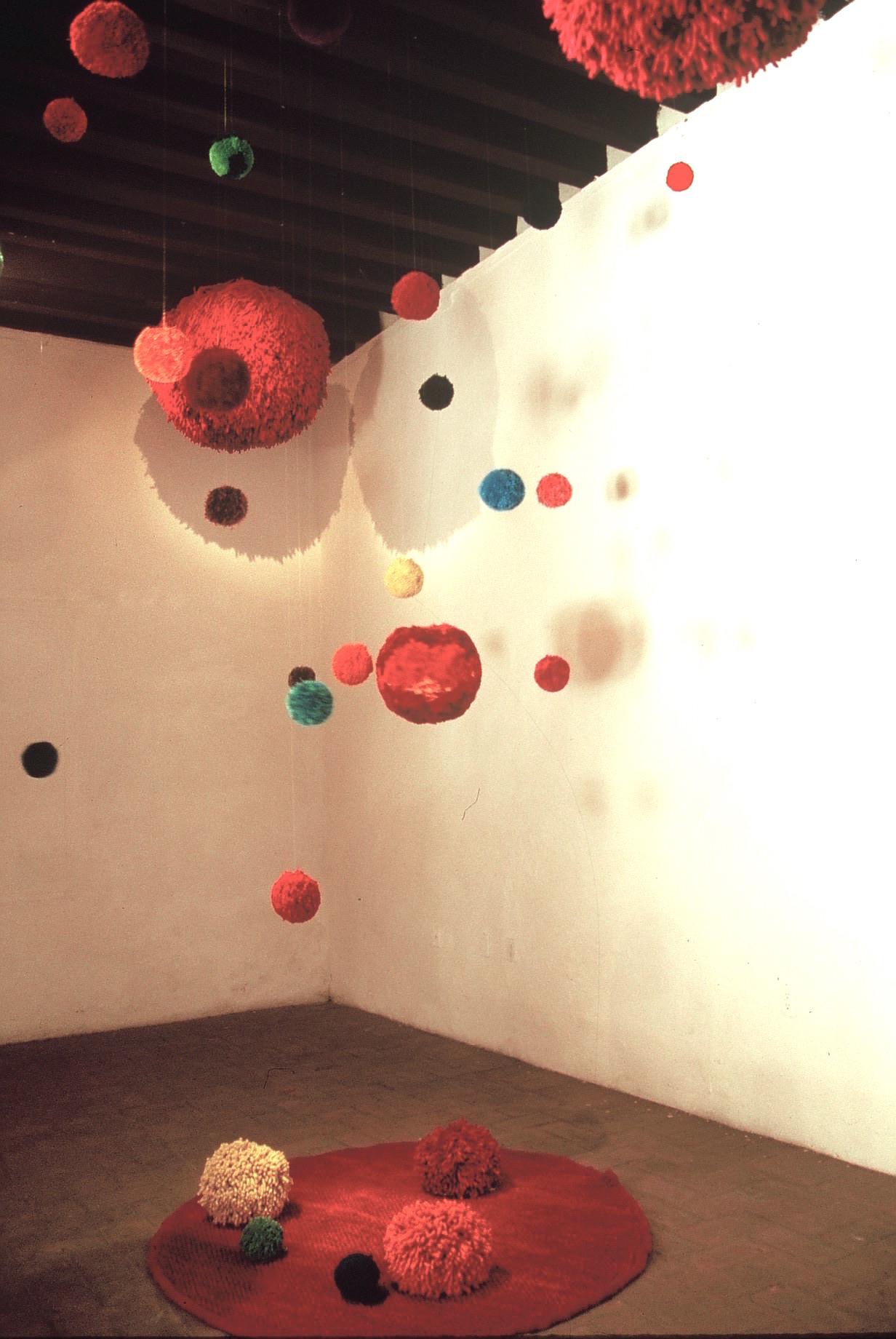 PomPom Installation, El Museo de La Ciudad, 2005, Querétaro, Mexico