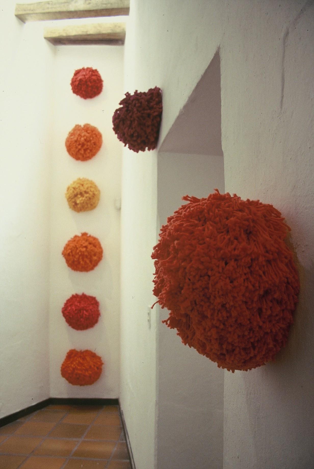PomPom Installation, Galería Quetzali, 2005, Oaxaca, Mexico