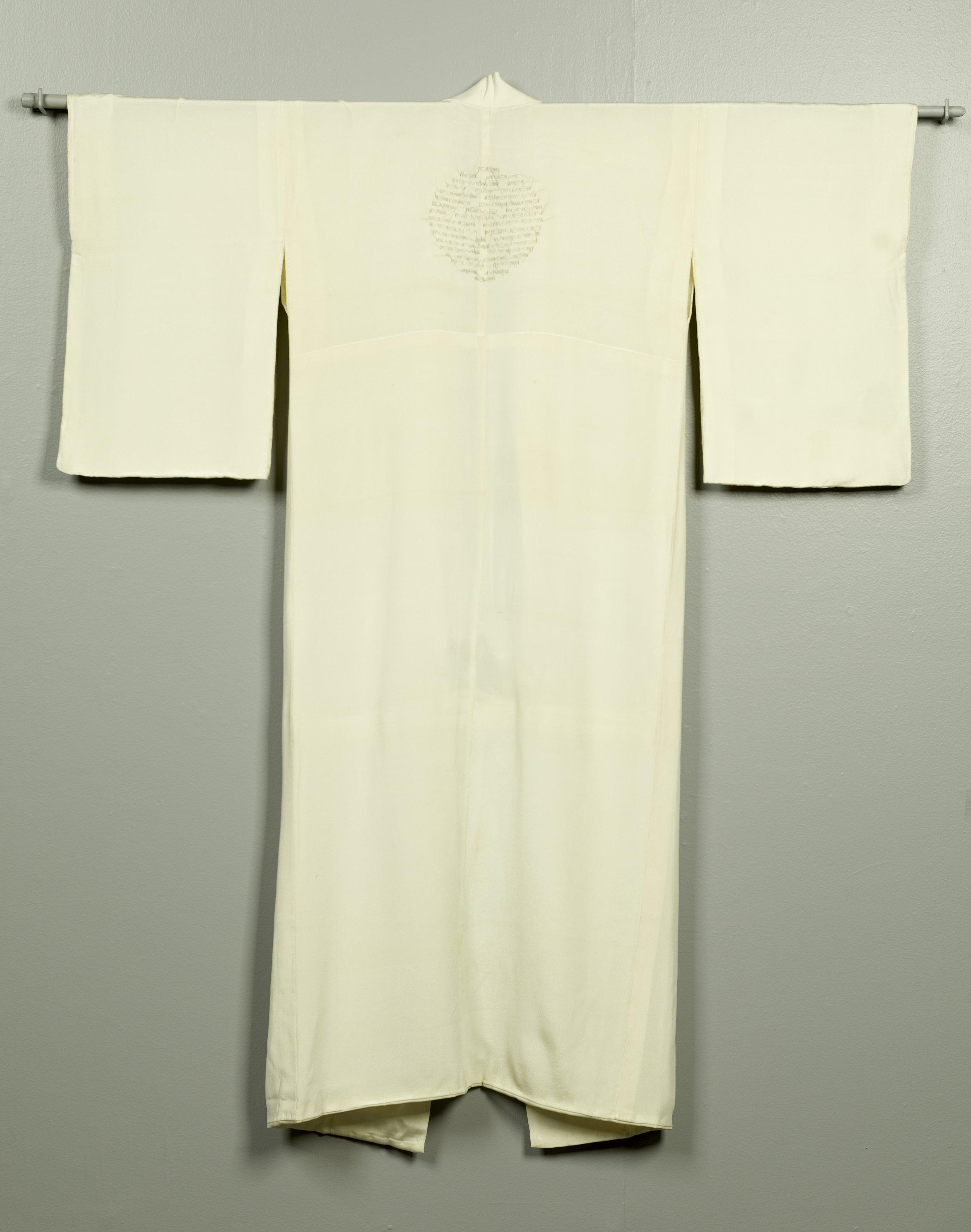 """Esperanza,"" 2004, artist's hair, silk kimono"