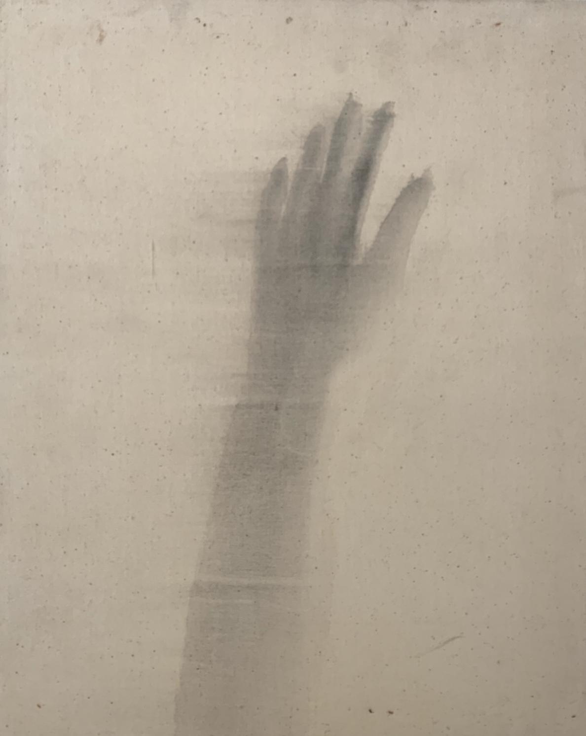 """""""Hiroshima/4,"""" 1995, sumi ink on canvas, 22"""" x 16"""""""