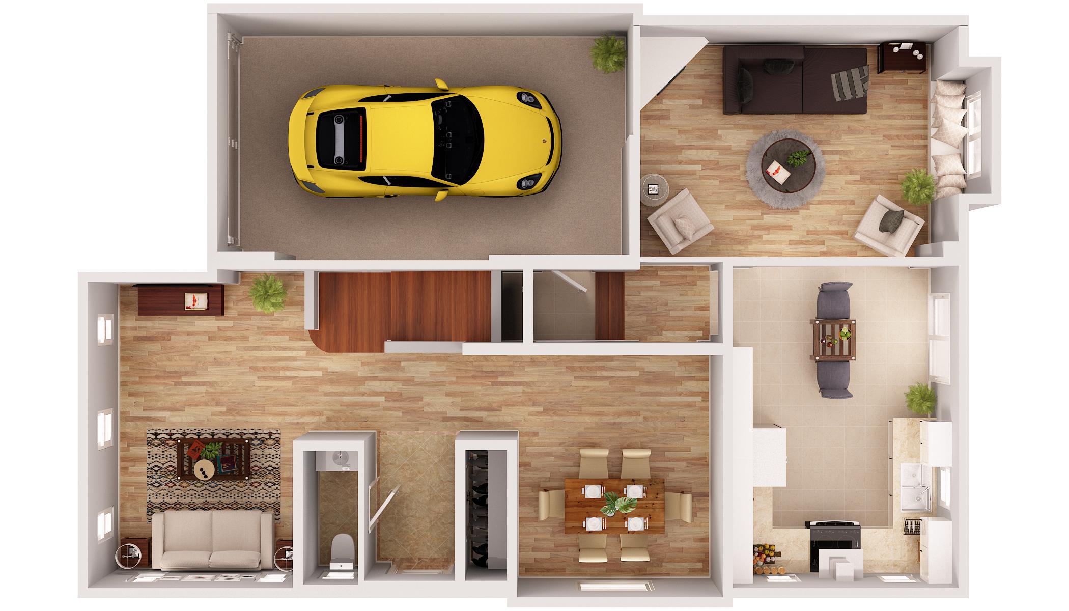 Carmel Floor Plans