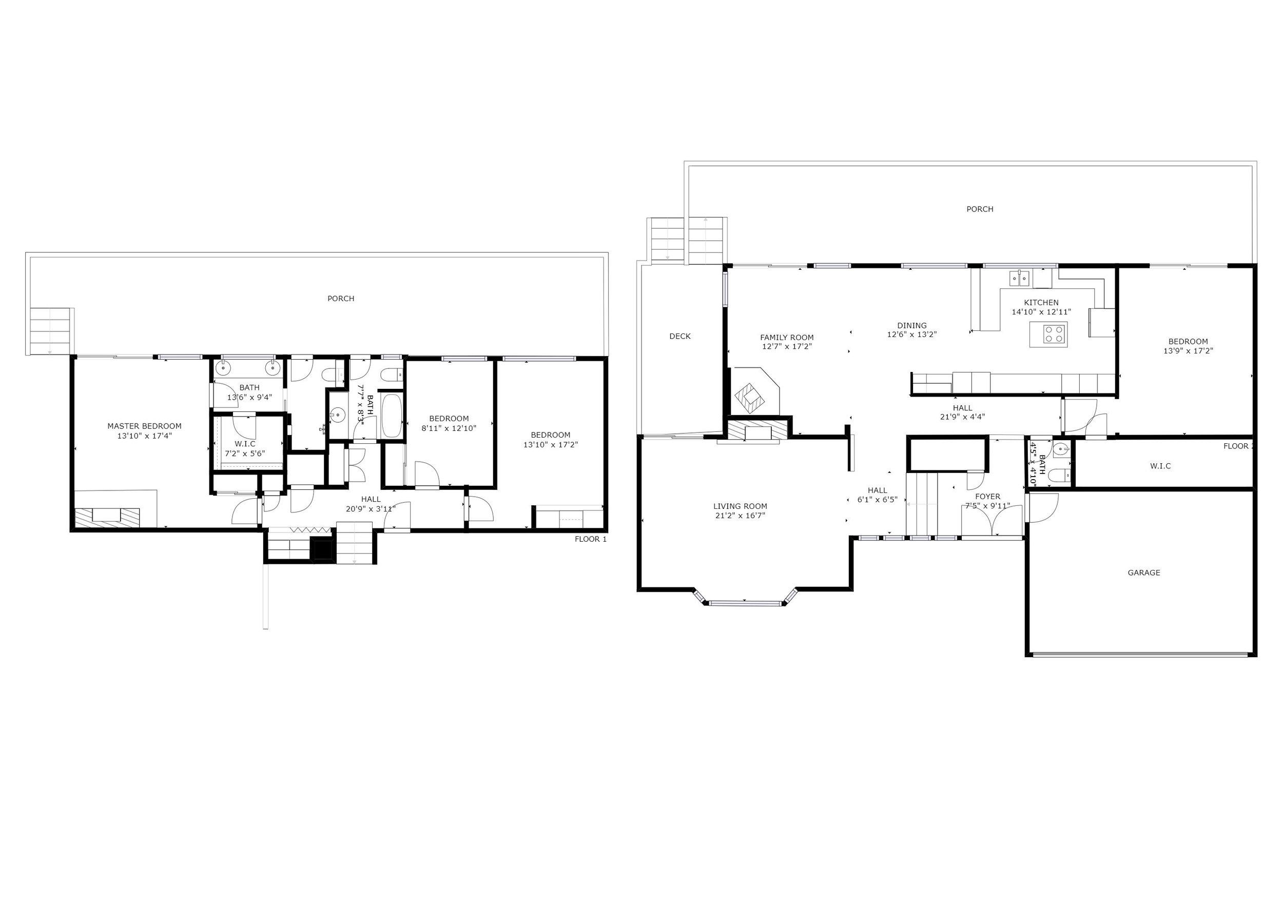 Monterey Floor Plans
