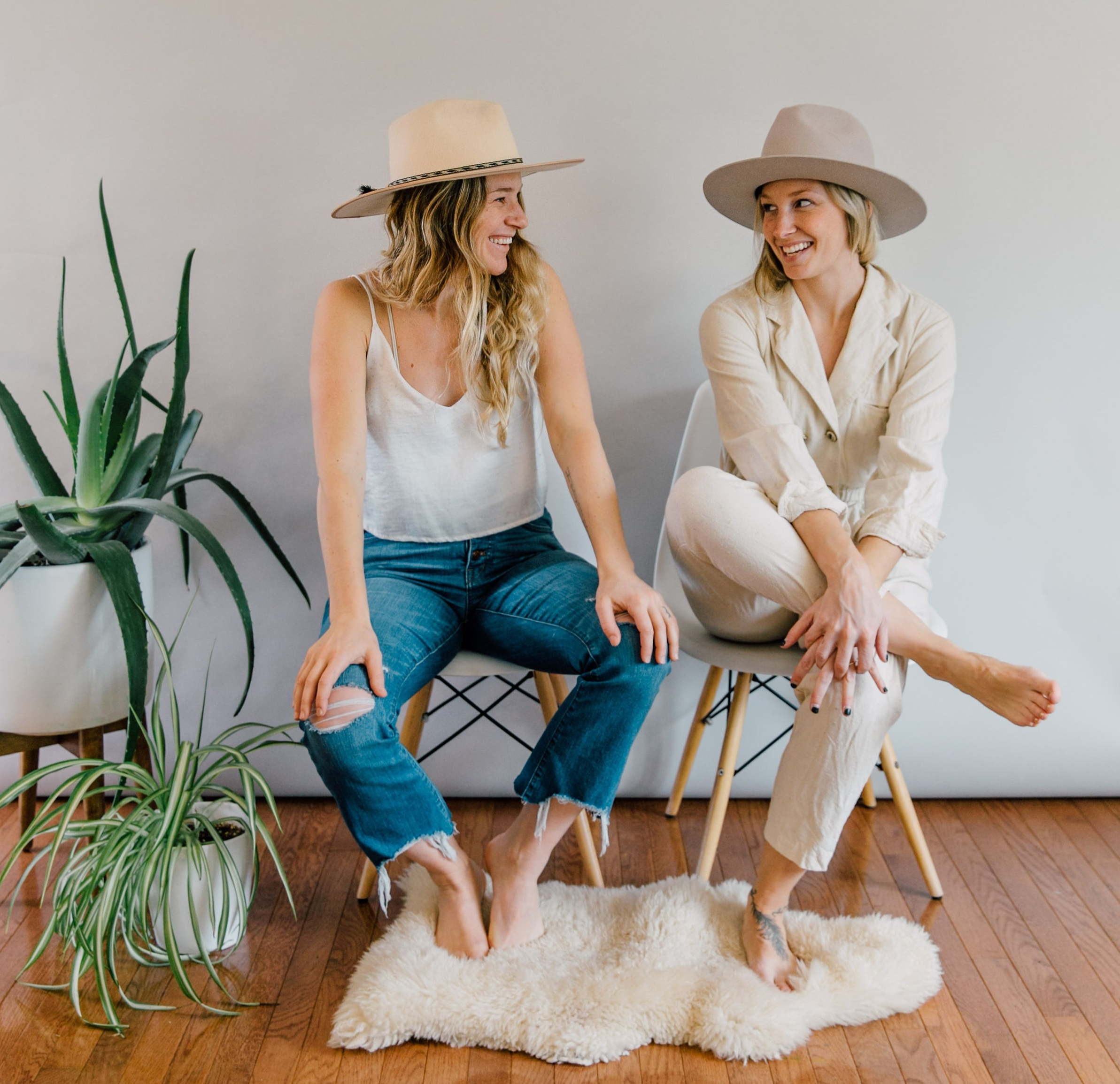 friends + small business owners Laura Burkhart + Tawni Eakman