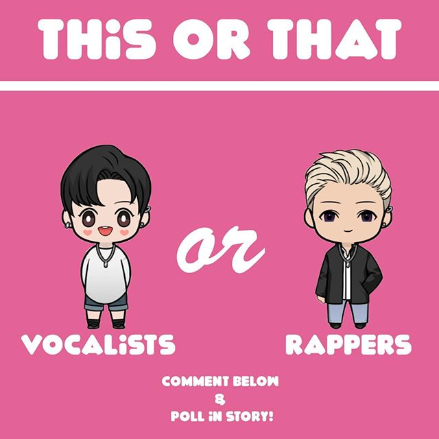 When you have a favorite group or artist, do you usually bias vocalists or rappers (or both)? Do you have a type?⠀ ⠀ With the exception of MX (Wonho is my soft muscle baby) all of my biases have been rappers. ⠀ ⠀ Which do you prefer? There's a poll in my story if you want to vote without leaving a comment!