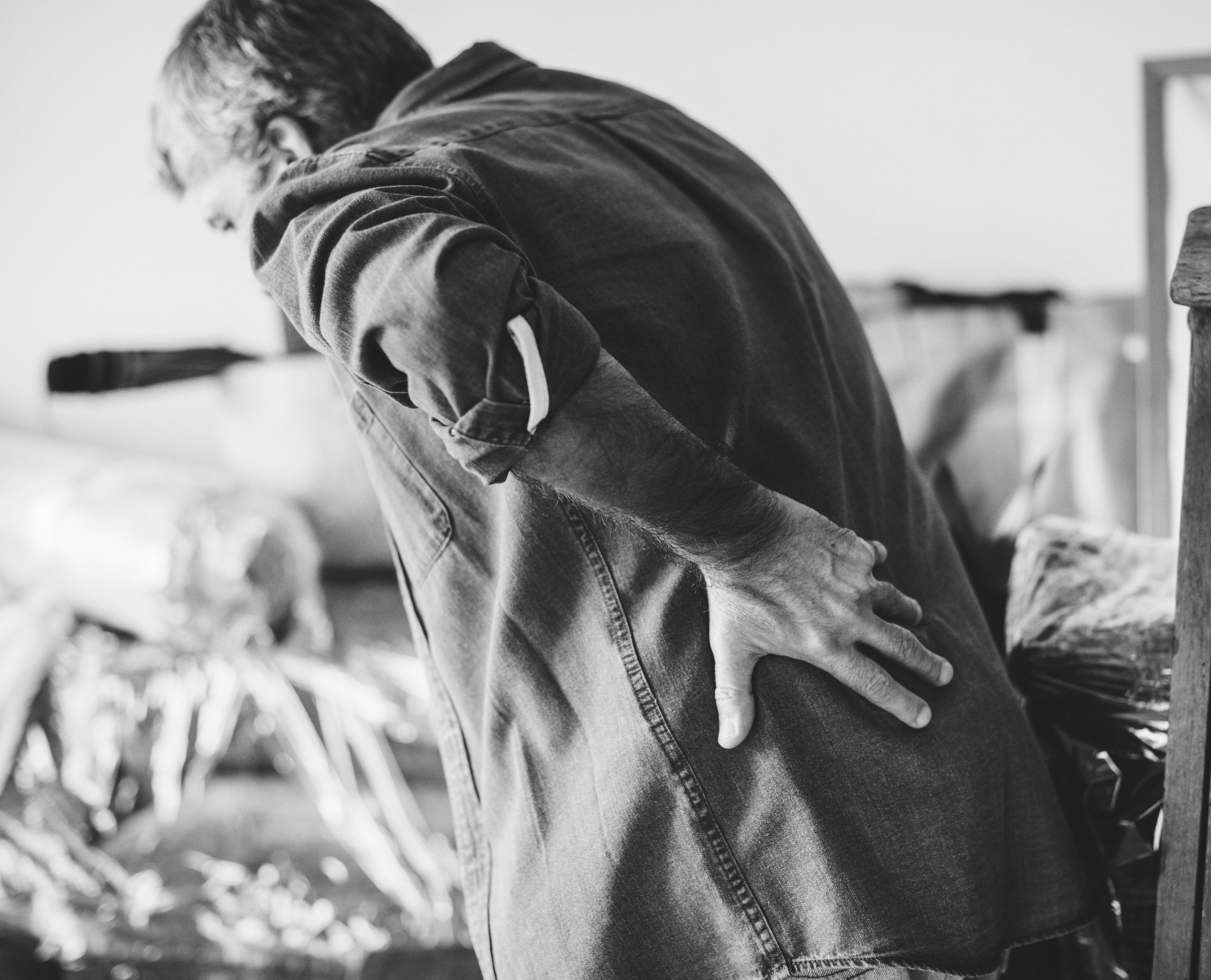 Acute and Chronic Low back Pain and neck pain. -