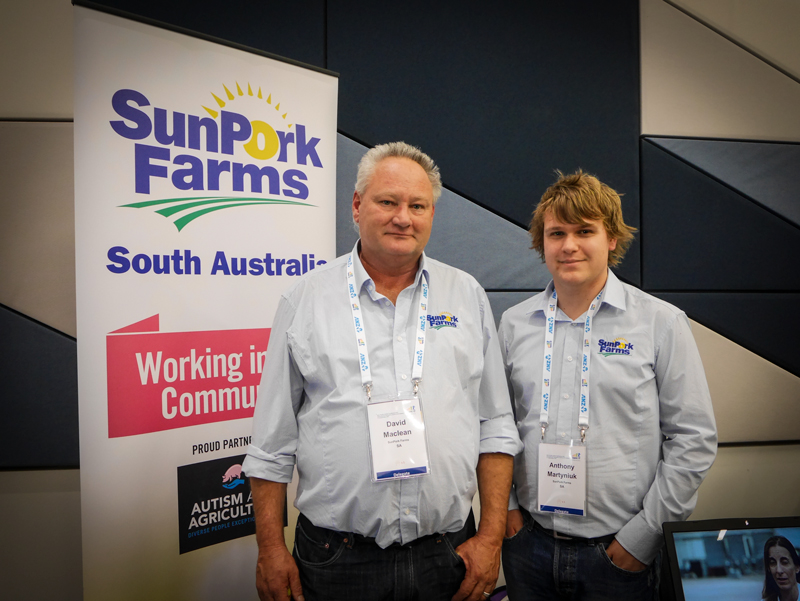 David Maclean & Anthony of SunPork Farms
