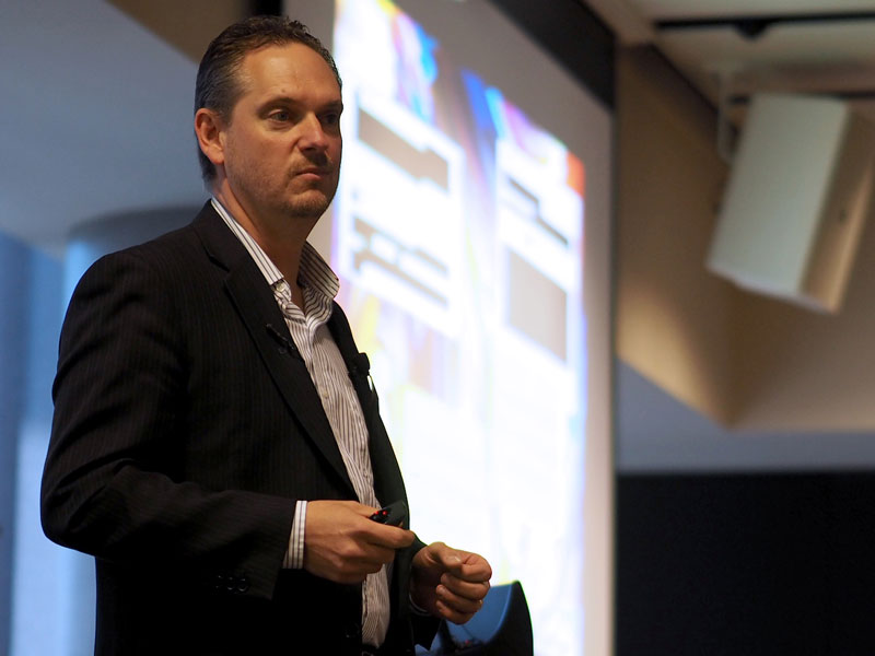 Matt Ormiston, the Spectrum Program Director of ANZ