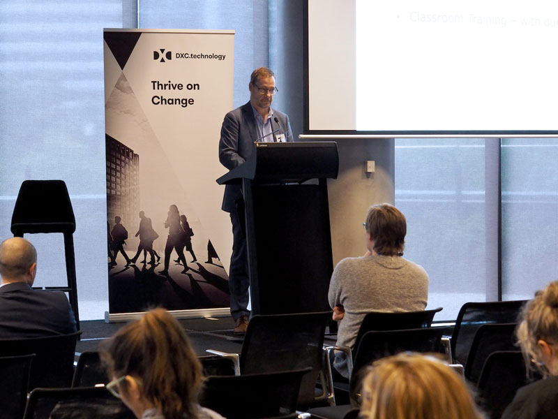 Presenter at the 2018 Autism at Work Summit in Melbourne, Australia