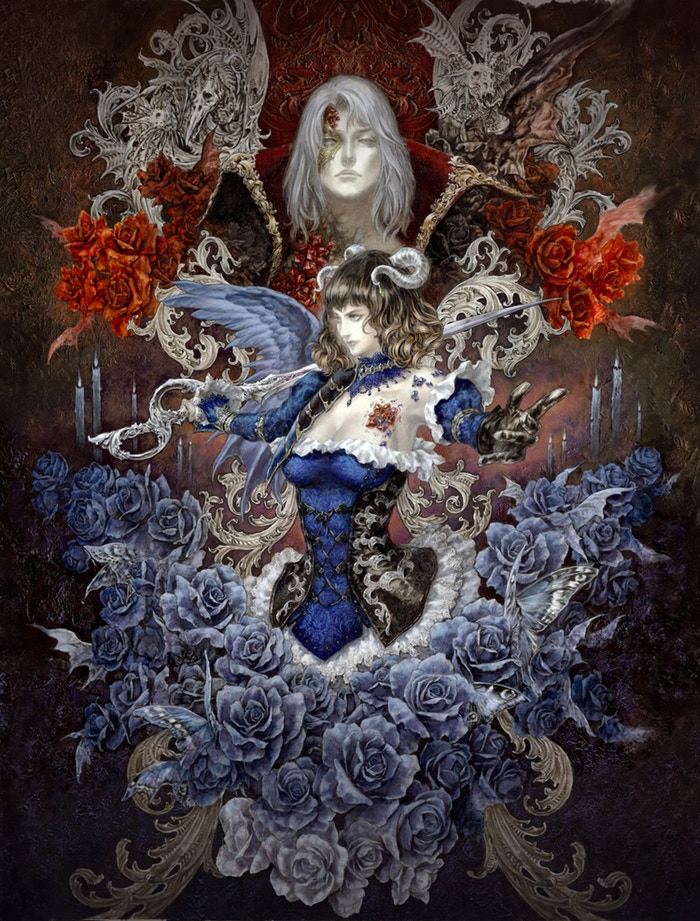 Ayami Kojima poster for Bloodstained: Ritual of the Night