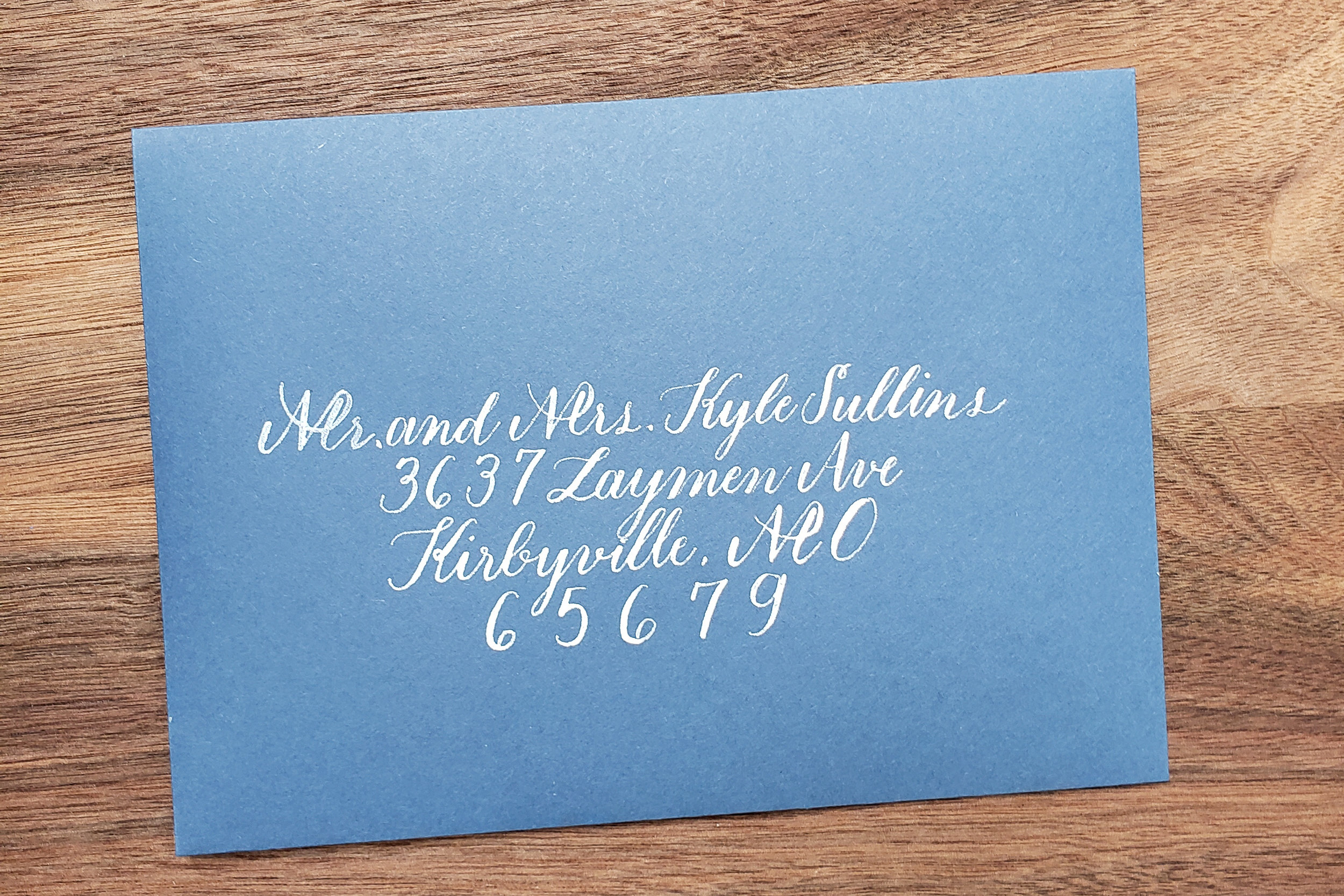 Wedding Calligraphy - We provide calligraphy for envelopes, weddings, monograms and everything in between.