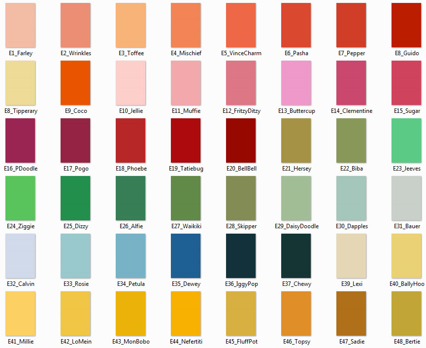 GET YOUR COLORS CARD