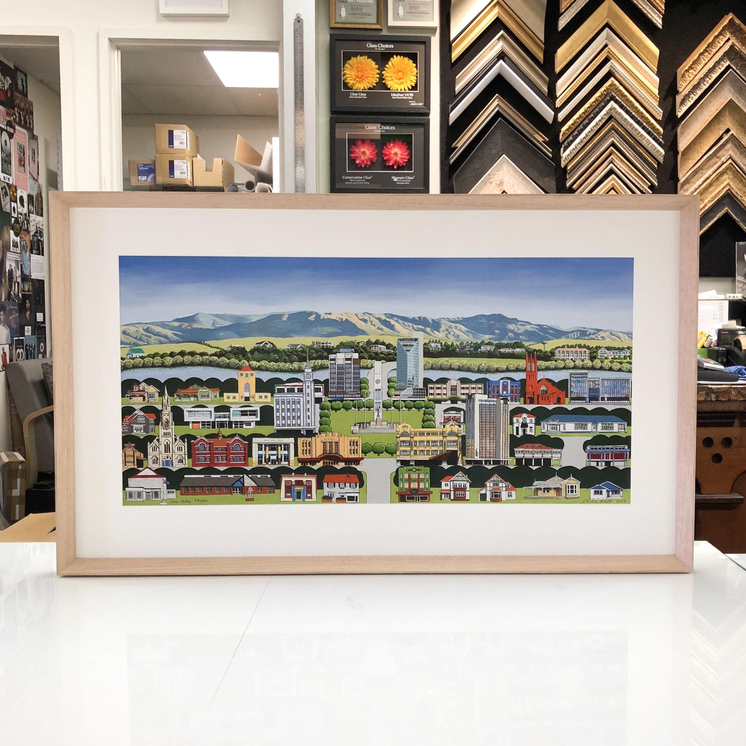 El Framo Picture Framing Auckland Picture Frame Example