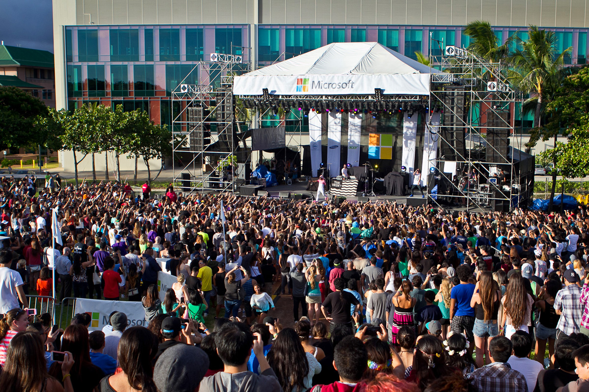 Microsoft festival