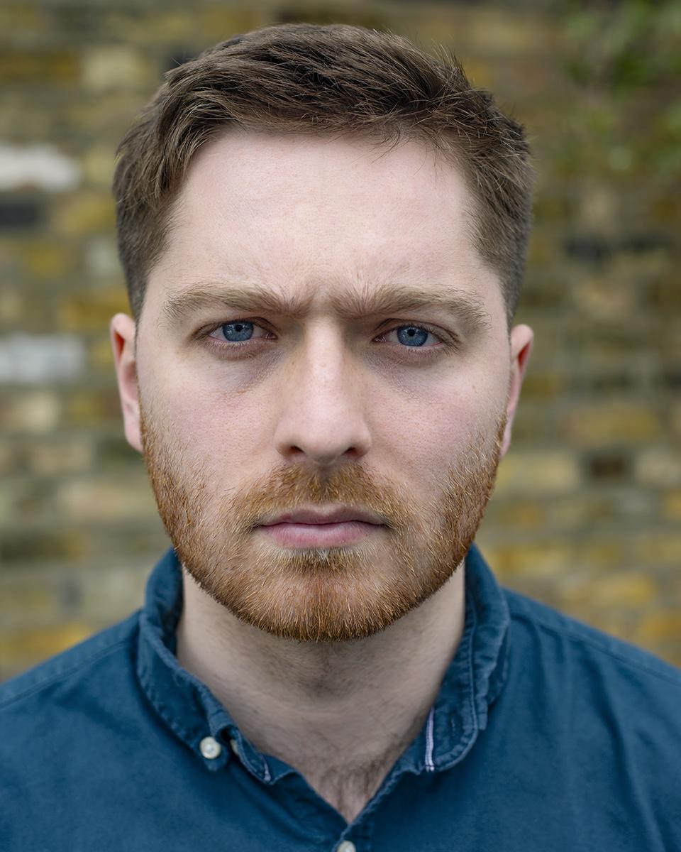Joe Hassan outdoor actors headshot photography in London.jpg