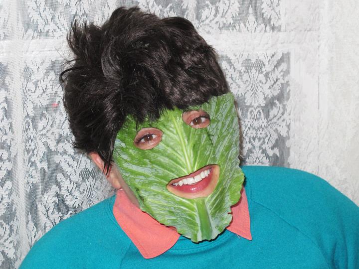 Self-portrait as Fred Cabbage by Jeff Wysaski