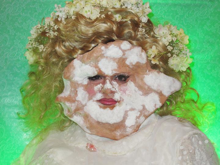 Self-portrait as JonBeignet Ramsey by skitterypigeon and breadpeople