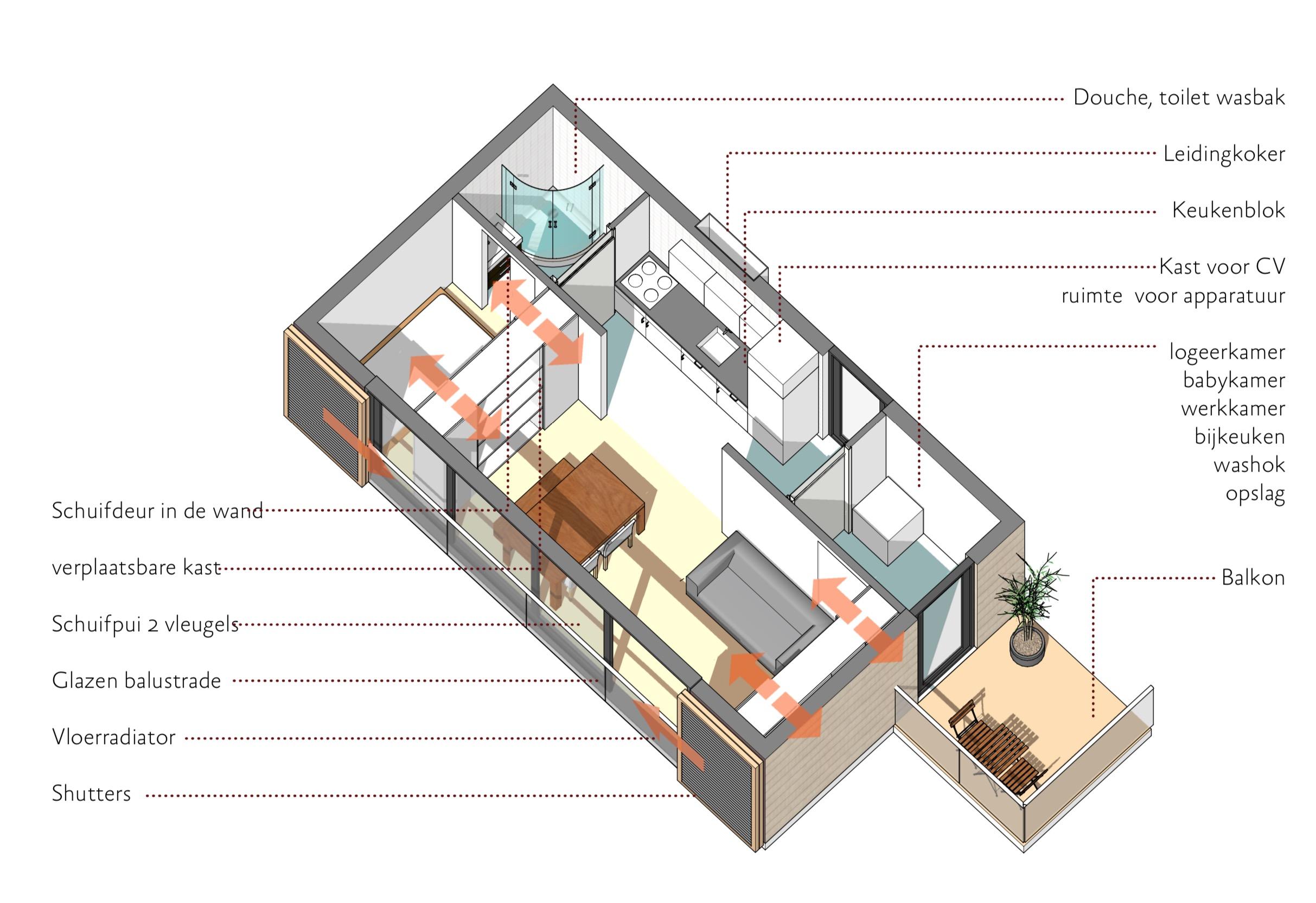 36m2 micro appartment