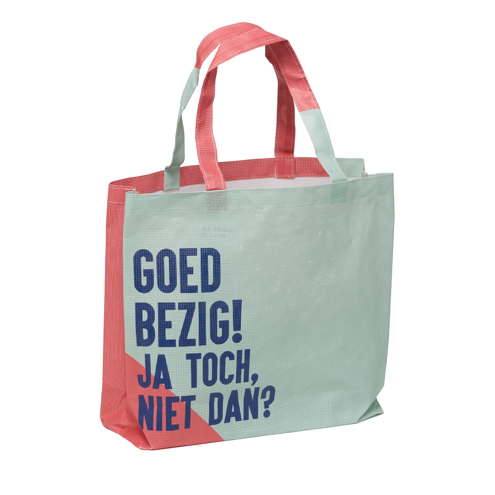 BEAT THE BAG: LET'S BEAT THE BAG   Beat the Bag reduces the use of plastic bags and gives promotional banners a second life. By upcycling these waste materials from and for companies into reusable bags, we support the circular economy in the Netherlands. In social workplaces, these sustainable and high-quality bags are sewn with lots of love.  100% sustainable, 100% social and 100% local.   http://beatthebag.com/