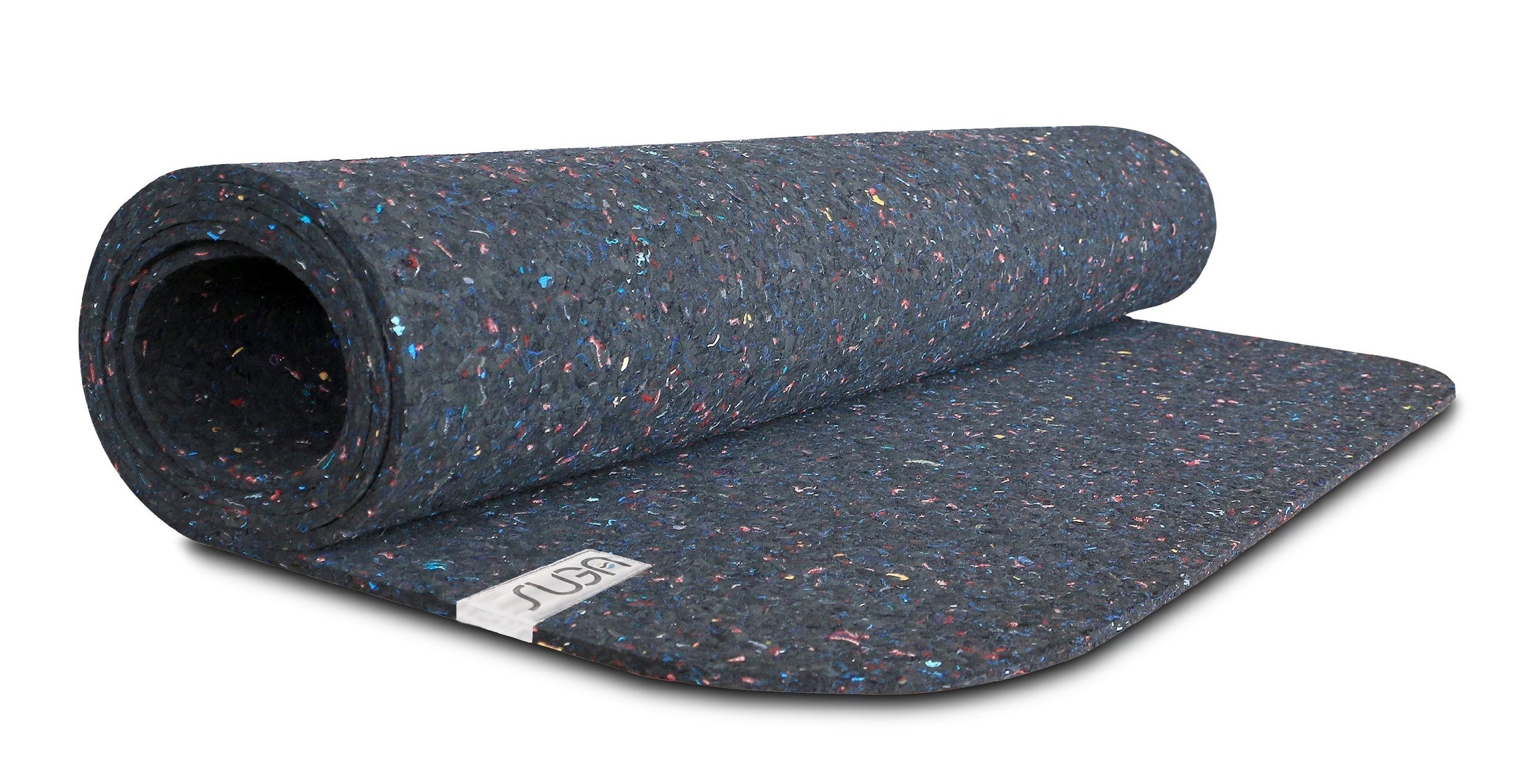 Suga: Sugamat   Suga collects used wetsuits from around the US and Canada and reuses the material to create a 100% recycled plastic yoga mat that is also fully recyclable. You can purchase this yoga mat for life, and they'll fix and replace your mat whenever you need it!   https://www.sugamats.com/buy/sugamatc2g