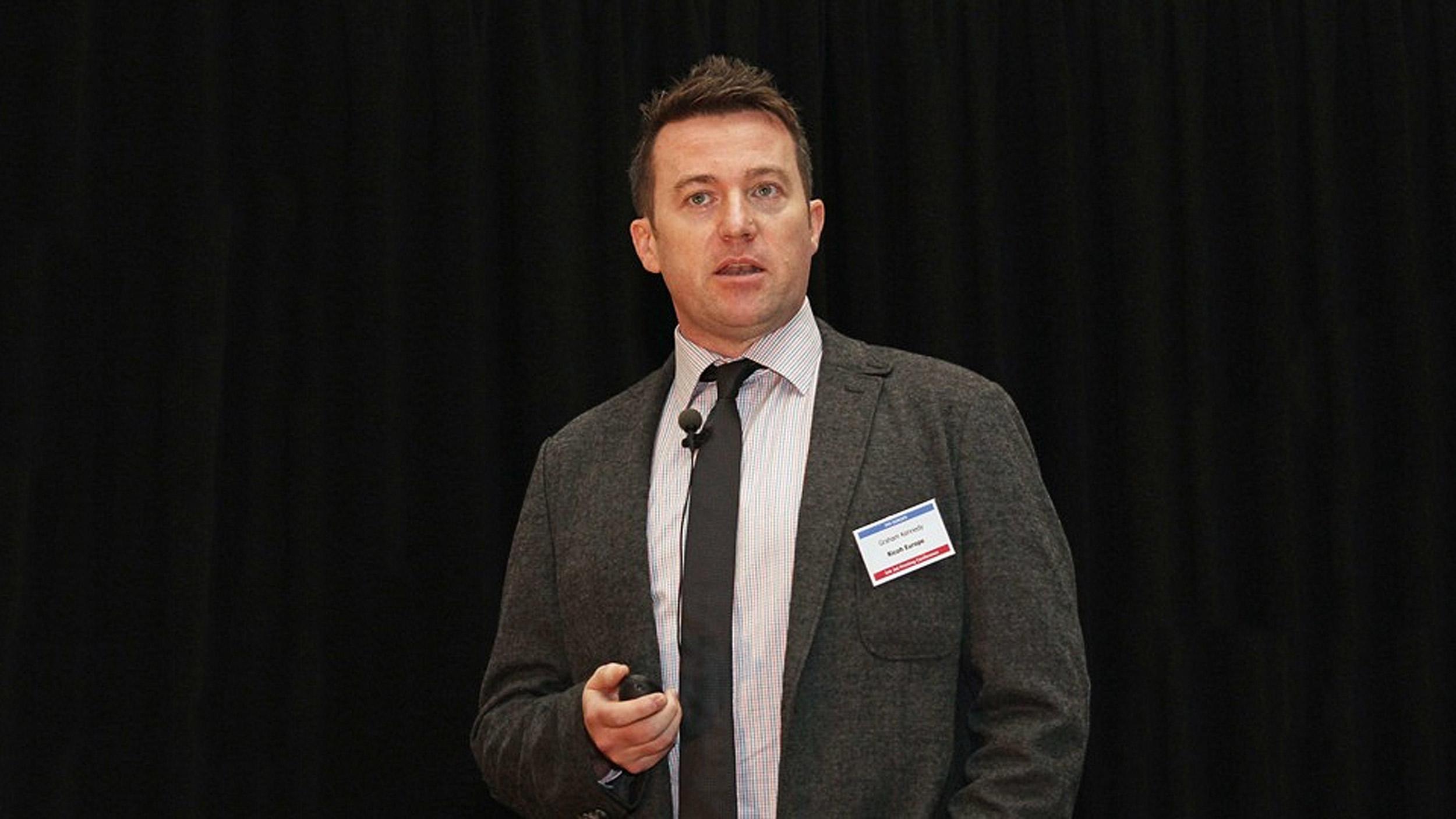 Graham Kennedy, Head of Commercial Inkjet Business