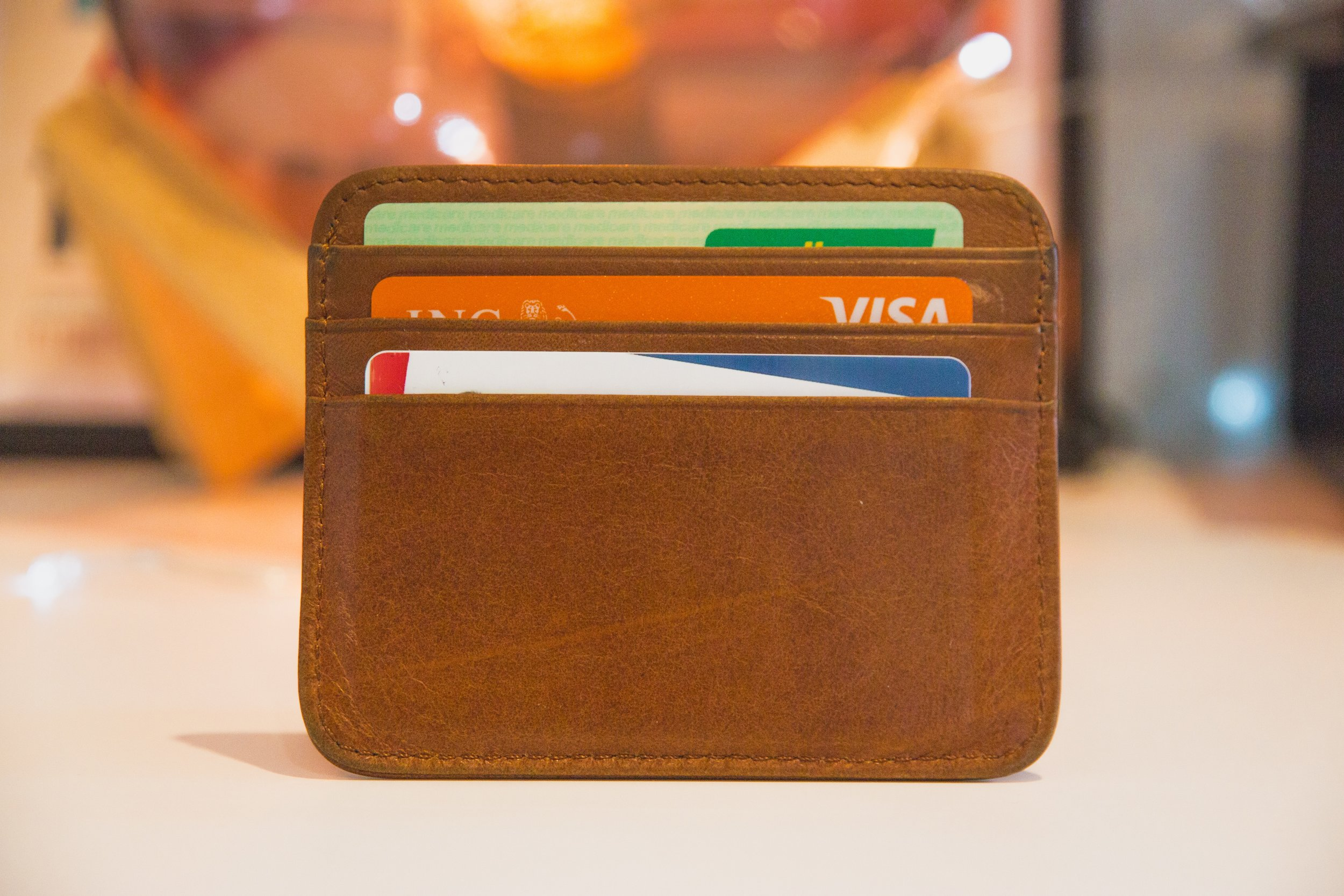 Image of credit cards that an entrepreneur might use to fund their business and lifestyle. Photo by  Web Hosting  on  Unsplash