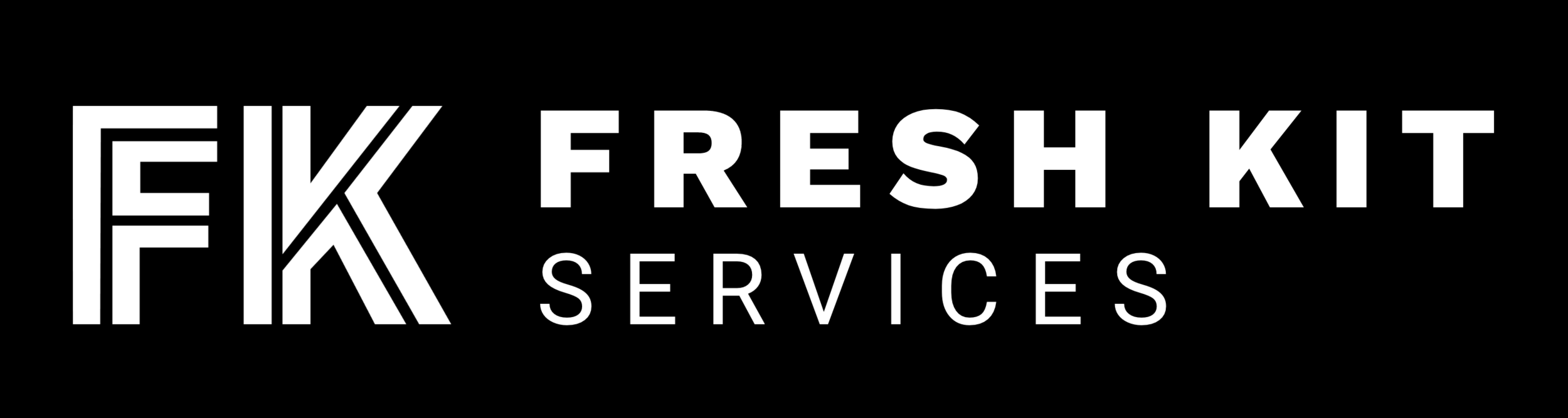 Fresh Kit - Services white logo