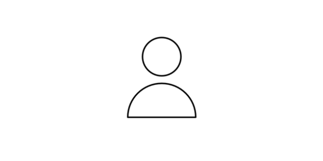 Focused icon - a person representing our customers