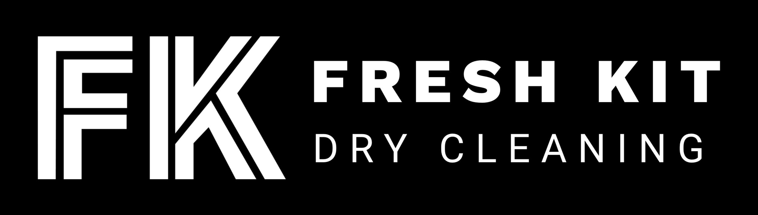 Fresh Kit - Dry Cleaning black logo