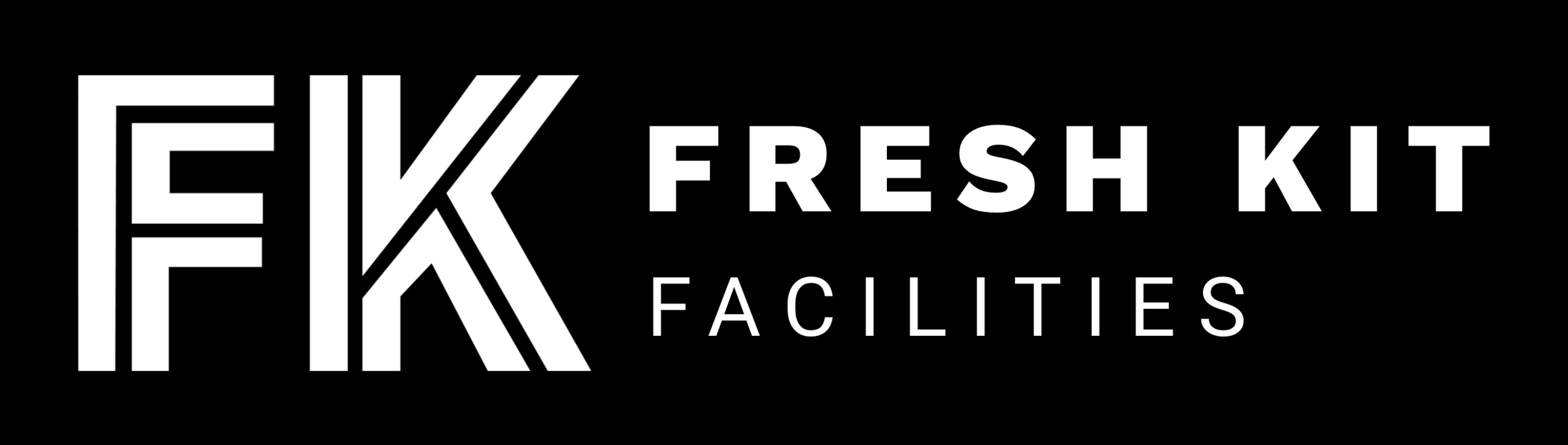 Fresh Kit - Facilities white logo
